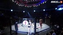 Un combat MMA se termine en 9 secondes à cause dun mauvais coup dans les parties intimes