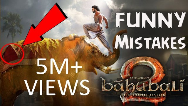 (12 Mistakes) Baahubali 2 The Conclusion 2017