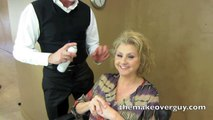 MAKEOVER: Fine Hair to Full Hair, by Christopher Hopkins, The Makeover Guy®
