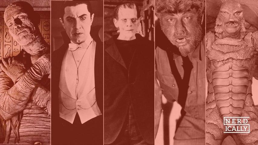 """""""Quatro dos Melhores e um dos piores Monstros da Universal- qual o seu favorito? """""""