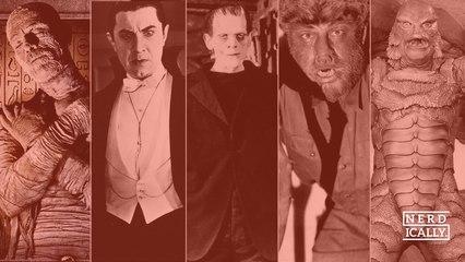 Cuatro de los mejores y uno de los peores Monstruos de Universal, ¿quién es tu favorito?