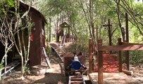 Un ado construit un incroyable manège Roller Coaster dans son jardin !