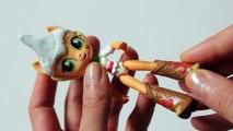 Et chat personnalisé bricolage poupée Équestrie de filles Coccinelle petit miraculeux mon poney se leva noir m