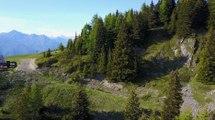 Adrénaline - VTT : Le petit single dans la montagne, découverte de la piste enduro  « Jackson » des Arcs