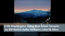 Keller Williams Welcome to North Conway NH and the Mt Washington Valley from Bill Barbin Real Estate 1min Video aud opt