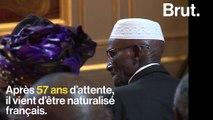Après 57 ans d'attente, Yoro Diao, tirailleur sénégalais, vient d'être naturalisé français