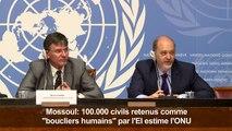 """Mossoul: 100.000 civils retenus comme """"boucliers humains"""" (ONU)"""