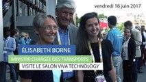 """""""Il faut vraiment miser sur l'innovation dans le domaine de la mobilité"""", Elisabeth Borne au salon Viva Technology"""
