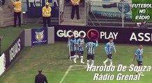 Gol De Grêmio 1 x 0 Bahia (Haroldo De Souza) Rádio Grenal - Brasileirão - 12 06 2017