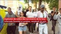 """""""Justice pour Grenfell"""" : la colère gronde chez les habitants du quartier de la tour incendiée de Londres"""