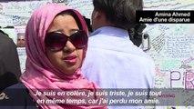 Londres : l'insupportable attente des proches des disparus