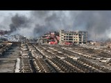 Devastación y muerte en Tianjin, China, por potente explosión