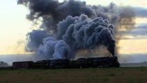 Hey Kids! More Real BIG Steam TRAINS in Action   Lots & Lots