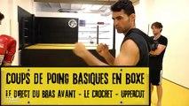 Cours de boxe pour débutant  - coups de poing (JAB, UPPERCUT, CROCH