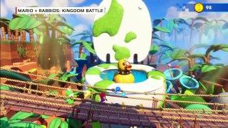 Mario Rabbids Kingdom Battle Switch Gameplay Walkthrough IGN