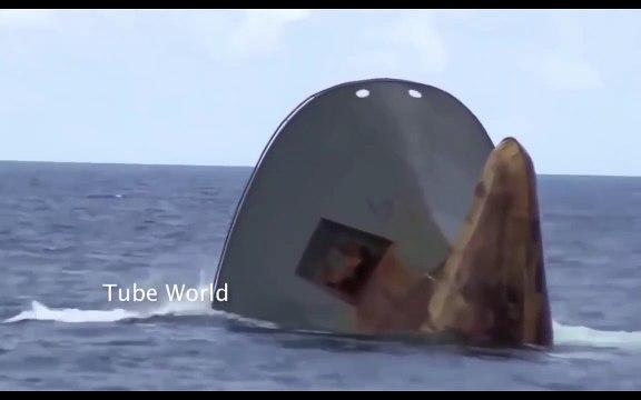 Shocking Ships Sinking in