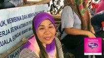 'Pesta' kutip paket tepung beras di Jeti Nelayan Telok Gong