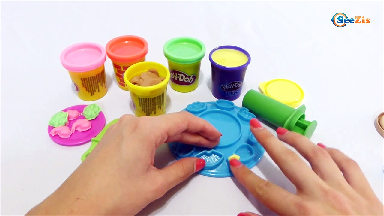 Плей До 6 play doh pasta maker