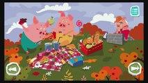 Livre pour amusement amusement enfants petit les cochons en train de lire histoires le le le le la Trois Temps de lhistoire  