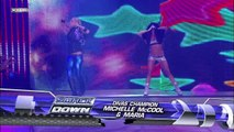 Maria and Michelle McCool vs. Maryse and Natalya