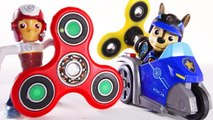 Fidget Spinner Paw Patrol Rescue Mission - Paw Patrol Cars Marshall Chase Skye Rubble
