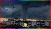 Une impressionnante tornade frappe la lagune de Venise !