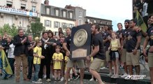 L'ASM fête le Brennus avec ses supporteurs à Clermont