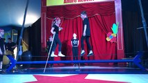 Spectacle de l'école de cirque de Bayeux