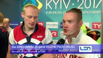 European Diving Championships - Kyiv 2017 - Ilia ZAKHAROV, Evgenii KUZNETSOV (RUS) - Winners of Synchronised 3m Men