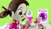 Niloya'nın Oyuncak Bebeği Tuvalet Yapıyor Temizlik Yaptırıyor - Niloya Türkçe Çizgi Film