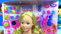 Pepee ve Niloya saç stilleri yapıyor Maşa saç modelleri yaptı Sarışın Niloya çizgi film bebeği bozdu