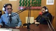 agha minhaj ajmal shobi fm 100 iftar transmission .,