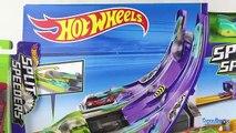 Chaud saut examen jouet roues piste duel double saut voitures double duel jouet