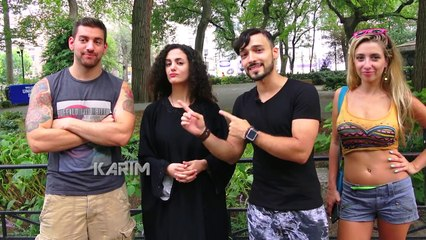 AMERICAN vs MUSLIM BAG EXPERIMENT by Karim