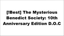 [sEtUe.Ebook] The Mysterious Benedict Society: 10th Anniversary Edition by Trenton Lee StewartChris GrabensteinTrenton Lee StewartTrenton Lee Stewart EPUB