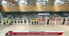 Hóquei em Patins  Sporting CP 5-5 SL Benfica