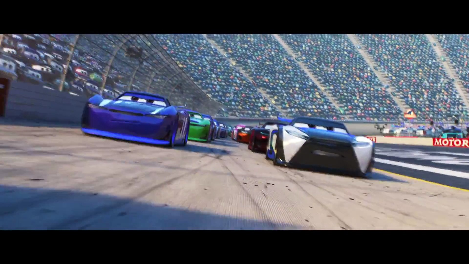 Cars 3 Movie Clip The Next Gen Video Dailymotion