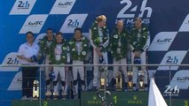 24 Heures du Mans 2017- Podium LMP2