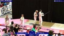 FDJ - N1 - Sabre dames Midi-Pyrénées vs Créteil
