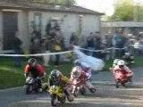Courgeney 2007 pocket-bike F1-16/24ans 2éme Manche Part1