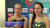 European Diving Championships - Kyiv 2017 - Nadezhda BAZHINA, Kristina ILINYKH (RUS) - Winners of Synchronised 3m Women