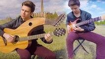Breathe (In The Air) - Pink Floyd (Dark Side of the Moon) - Harp Guitar Cover - Jamie Dupuis