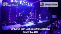Le Quartet open Land rencontre Louis Sclavis