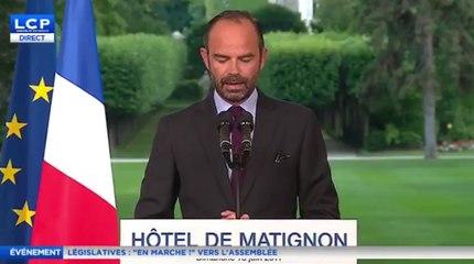 Edouard Philippe : «Les Français ont préféré l'espoir à la colère»