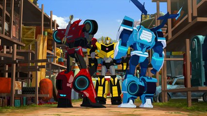 Transformers: Robots in Disguise: Combiner Force: Episode 6: Bee Cool (HD)