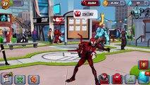 Bataille patron ennemi ami (e) ou homme araignée venin contre symbiote