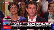Le discours de Manuel Valls, réélu dans l'Essonne