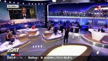 Valls annonce sa victoire dans une ambiance tendue à la mairie d'Evry
