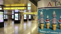 今週の新宿駅【Week21 2017】Shinjuku Station, Tokyo Japan(1) アルタ地下から東口改札