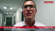 """Législatives 2017 (2e tour). Quimper : K. Ghachem (LREM) : """"je veux saluer Jean-Jacques Urvoas, qui a fait un très bon boulot"""""""